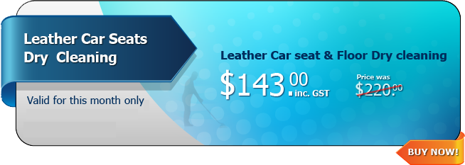 Hot Deal - Leather Car Seats Dry Cleaning